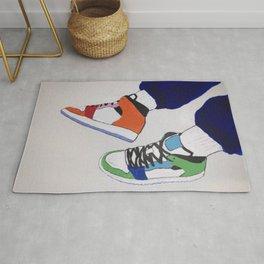 Trendy Sneaker Jordan Rug