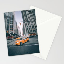 Manhattan Morning Rush Stationery Cards