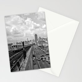 From the Seven Train in Queens Stationery Cards