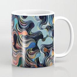 Layered Gloss Drops - Abstract Coffee Mug