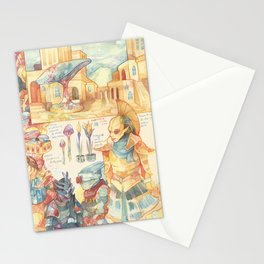 Morrowind Stationery Cards