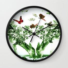 Deer-licious Wall Clock