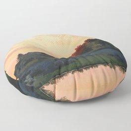 Inverhuron Provincial Park Floor Pillow