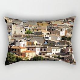Toledo, Spain Rooftops  Rectangular Pillow