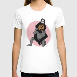 John Wick in Pumpkin Guy Submission T-shirt