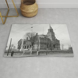The Knox County Courthouse in Knoxville, Tennessee Rug