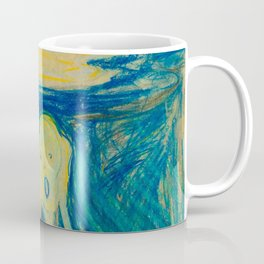 "Edvard Munch ""The Scream"" (1893)(pastel) Coffee Mug"