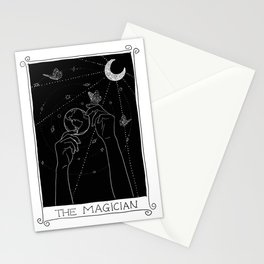 The Magician Tarot Black Stationery Cards