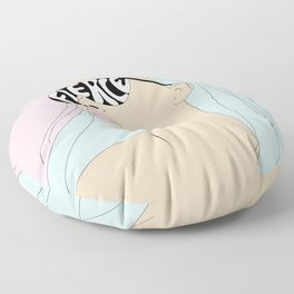 I Can See the Future Floor Pillow