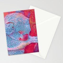Popular Animals - Koala Stationery Cards