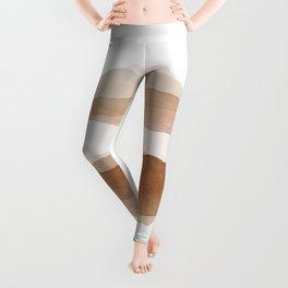 Brown World Leggings