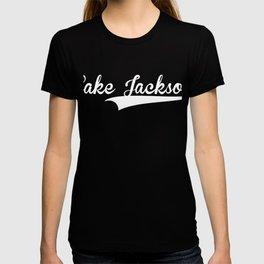 LAKE JACKSON Baseball Vintage Retro Font T-shirt