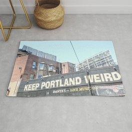 Keep Portland Weird Rug