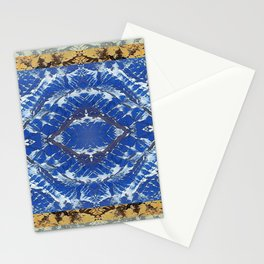 AFGHAN MOUNTAINS MANDALA Stationery Cards
