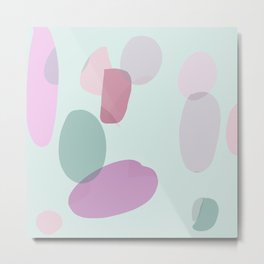 Pastel mood wallpaper Metal Print