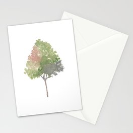 Watercolor Tree  Stationery Cards
