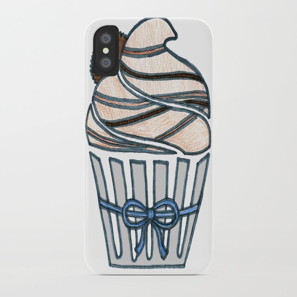 Peanut Butter Cup Cupcake Phone Case by Designthebranch PCS7823996