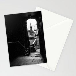 Edinburgh alleys Stationery Cards