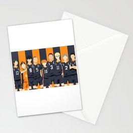 Haikyuu Karasuno Team  Stationery Cards