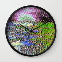 IBB 002 386 Turbo Button Wall Clock