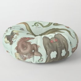 CRYPTIDS Floor Pillow