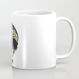 Blind Sugar Skull Coffee Mug