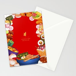 Japanese Food Collection Stationery Cards