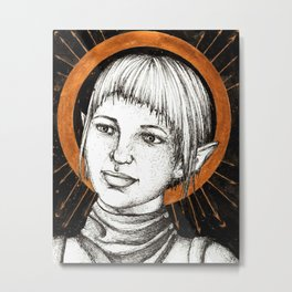Ladies of Dragon Age: Sera Metal Print
