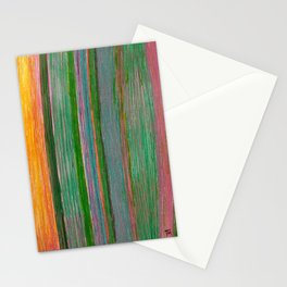 Striped columns Stationery Cards