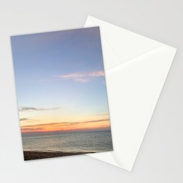 Herring Cove Beach at Sunset in Ptown Stationery Cards