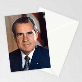 President Richard Nixon Portrait Stationery Cards