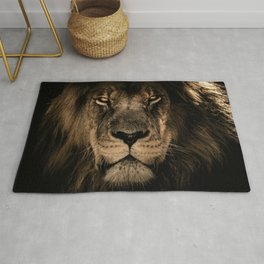 The King The Lion Rug