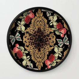 Lace Baroque Wall Clock