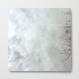 gloomy fluffs Metal Print