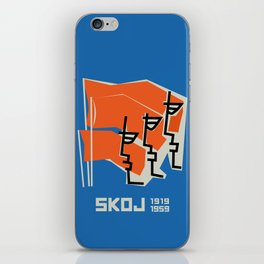 Glory to Yugoslavian design iPhone Skin