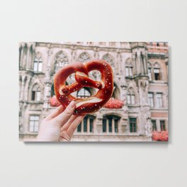 Tie the Knot | Munich, Germany Metal Print