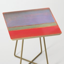 1951 No 6 Violet Green and Red by Mark Rothko HD Side Table