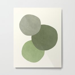 Circles On Circles Metal Print