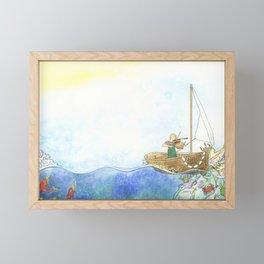 Maritime Festival Celebration Framed Mini Art Print