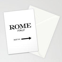 Rome - Italy Stationery Cards