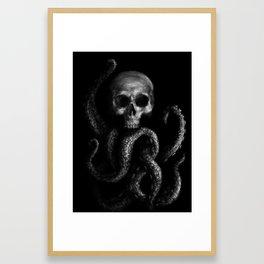 Skullapus Framed Art Print