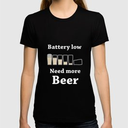 Once Charge Up Beer T-shirt