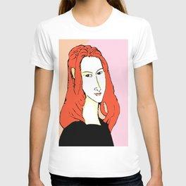 Porträt der Jeanne Hébuterne T-shirt