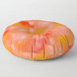 Cherries, Tangerines, and Cream Floor Pillow