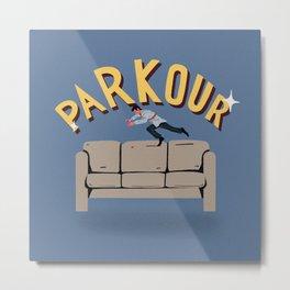 Parkur ! Metal Print