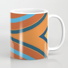 Retro Double Rainbow Coffee Mug