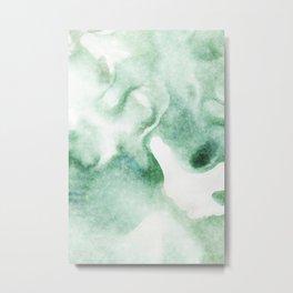 stained fantasy greenish milk Metal Print