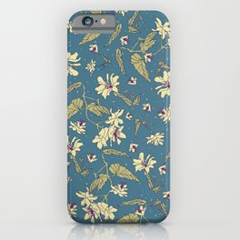 Yellow Begonias iPhone Case