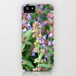 A riot of blooms iPhone Case
