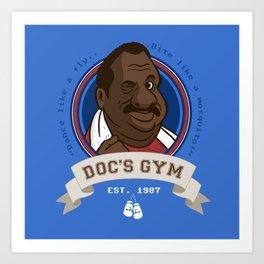 Doc's Gym Art Print